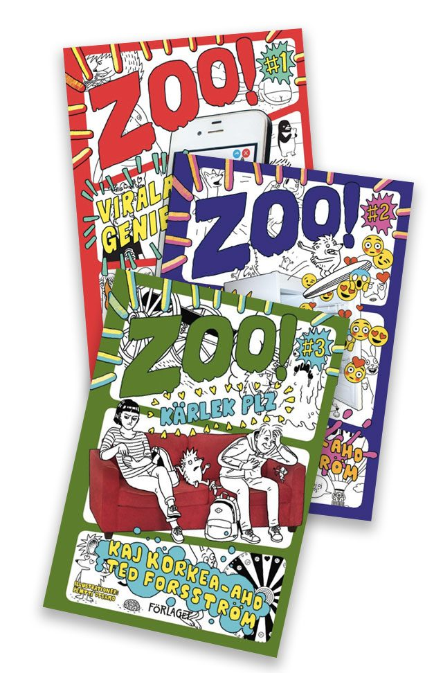 Zoo-serien-av-Förlaget---Ted-Kaj