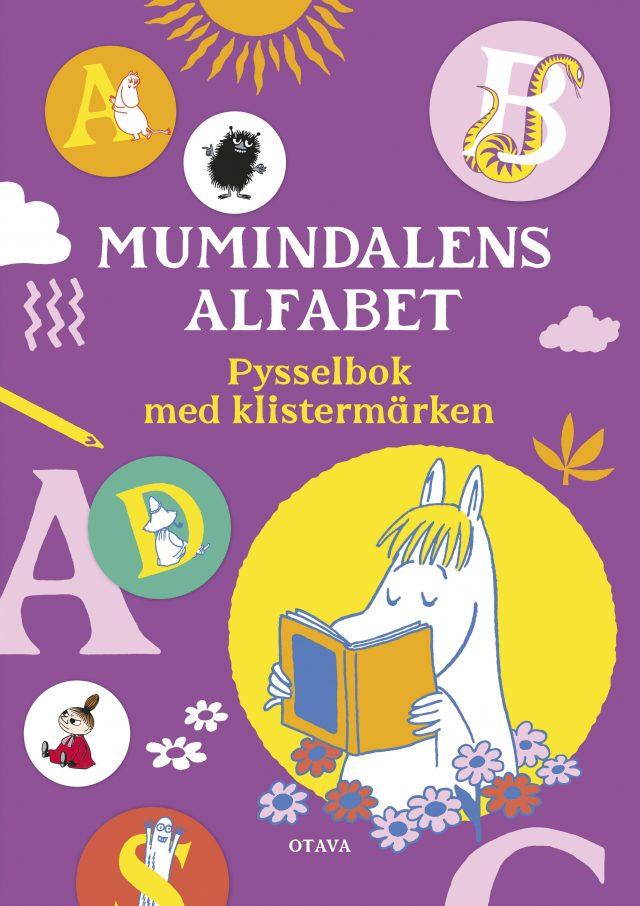 Otava: Mumindalens alfabet – pysselbok med klistermärken